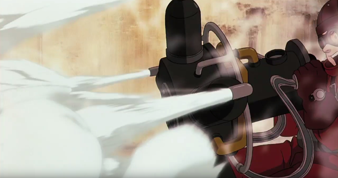《Steamboy》的存在根本是為了可以盡情去畫煙吧...
